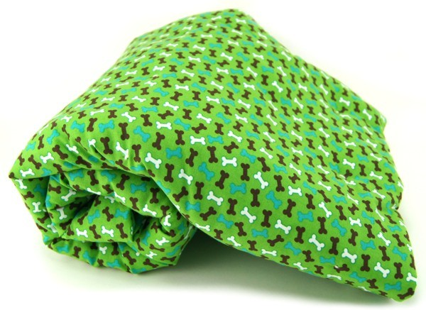 Green Bones Pet Blanket