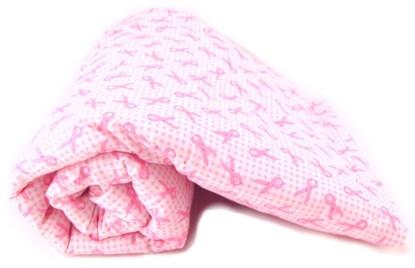 Pink Ribbons Pet Blanket
