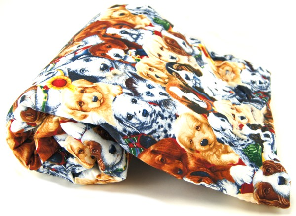 Puppy Faces Pet Blanket
