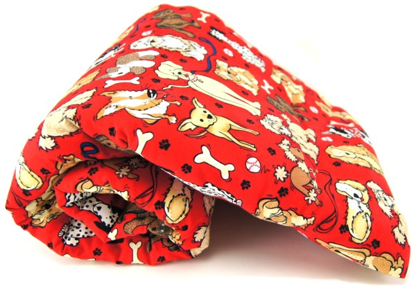 Red Dogs Pet Blanket